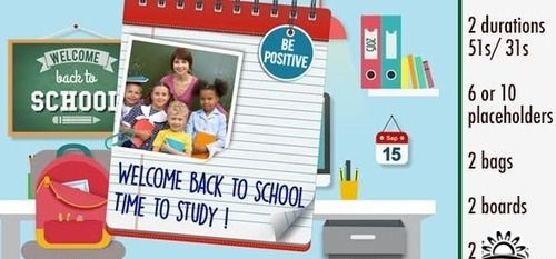 Videohive - Back to School - 12508402