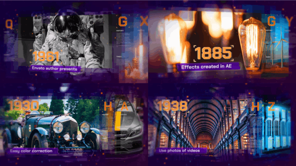 Digital History 22728030 Videohive – Free Download After Effects Templates