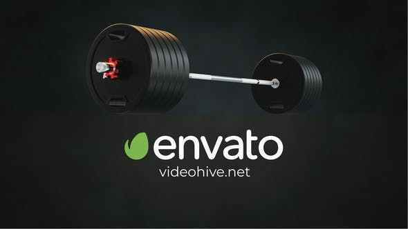 VIDEOHIVE GYM – FITNESS LOGO REVEAL