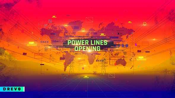 VIDEOHIVE POWER LINES OPENING