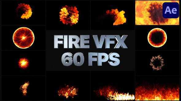 VIDEOHIVE FIRE VFX | AFTER EFFECTS