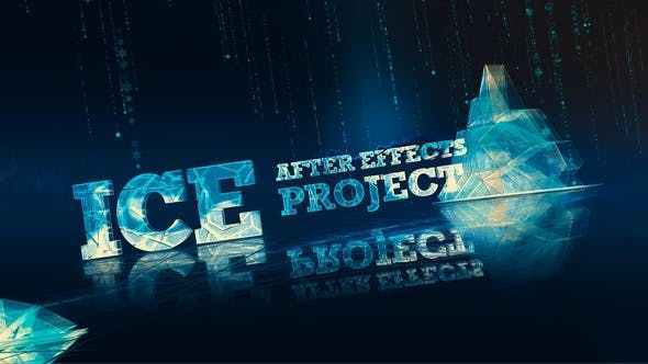 Videohive Ice Winter Snow Project 29512507